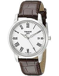 Tissot Herren-Armbanduhr Analog Quarz Leder T033.410.16.013.01