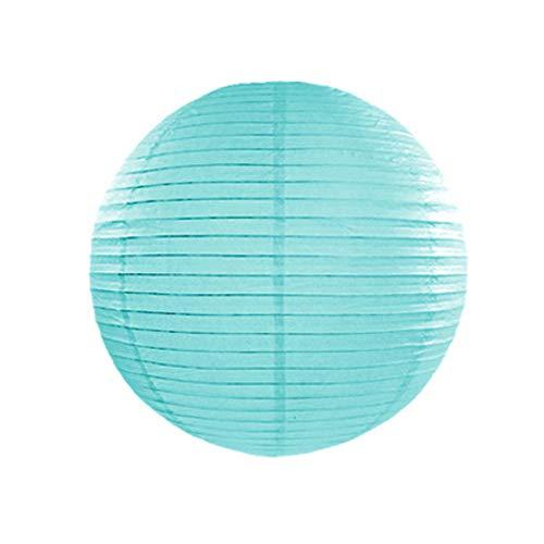 jakopabra Papierlaterne 20cm Durchmesser (Tiffany-blau)
