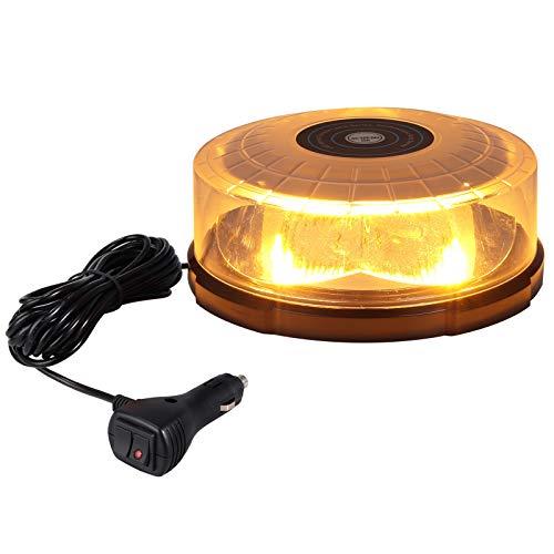 Caracteristicas:  - 64 LED de alta intensidad, con 4 piezas de reflectores para hacer que la luz sea uniformemente divergente.  - Hasta 30,000 horas de vida - 27 modos diferentes de parpadeo - Brillo de Parpadeo 360 grados (requisito legal)  - Recuer...