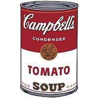 Lámina 'Sopa Campbell I: Tomate, c.1968', de Andy Warhol, Tamaño: 33 x 48 cm