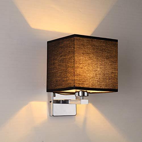 SUNA LED Applique Murale Lampe De Chevet Lampe De Couloir Couloir Tissu Minimaliste Moderne