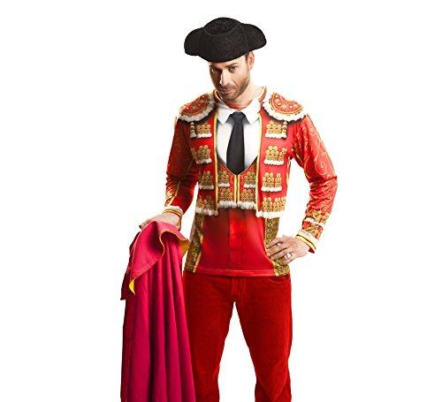 Camiseta Torero Rojo adulto