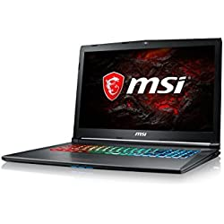 "MSI GF72 8RE-062XES - Ordenador portátil de 17.3"" Full HD 120Hz (Intel Core i7-8750H, 16GB RAM, 1TB HDD + 256GB SSD, Nvidia GeForce GTX 1060 6GB, Sin Sistema op.) Gris - QWERTY Español"
