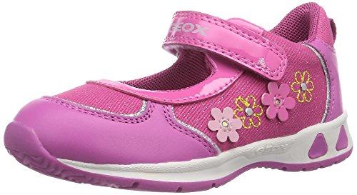 Kinder, Kleinkind, Baby Girl Schuhe (Geox Baby Mädchen B TEPPEI Girl B Sneaker Pink (FUCHSIAC8002) 20 EU)