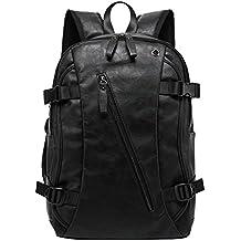 Nuovo bagaglio in pelle da uomo coreano zaino studenti morbide borsa a tracolla portatile borsa da viaggio zaino chic per il tempo libero
