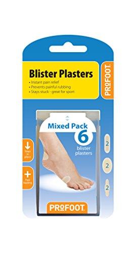 Profoot gemischt Blister Pflaster-Pack von 2 Retail Blister Pack