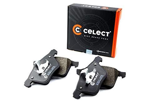 Celect CS2414201J - Set di 4 pastiglie freno a disco