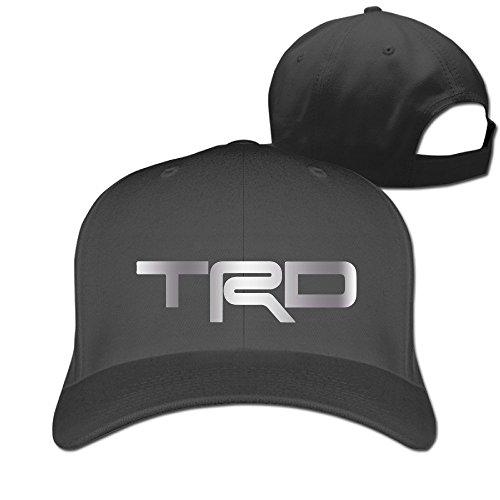 Hittings TRD Toyota Racing Developme Platinum Style Baseball Snapback Cap Black