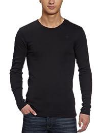 G-STAR Base R T l/s 1-Pack - Camiseta para hombre