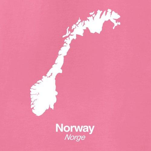 Norway / Norwegen Silhouette - Damen T-Shirt - 14 Farben Azalee