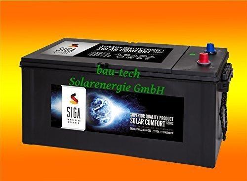 280Ah 12Volt Calcium Solar Batterie Akku Wohnmobil Boot Versorgungsbatterie