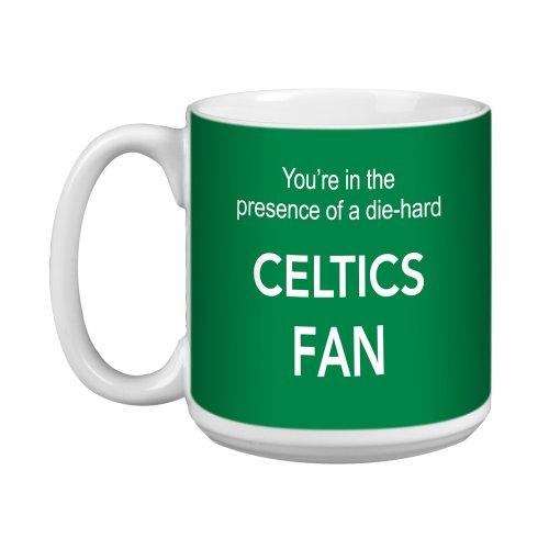 Tree-Free Greetings XM28141 Tasse, Motiv Celtics Basketball Fan