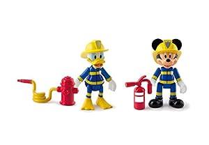 IMC Toys- Disney Pack 2 Mickey & Donald al Rescate, (181908)