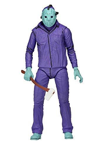 (Unbekannt 17,8 große,Klassische Jason-Figur, aus Dem Video-Spiel mit Themenmusik von The Friday 13th)
