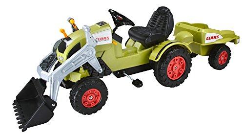 Claas Trettraktor Big Claas Celtis Loader + Trailer-Spielzeug-Bausatz