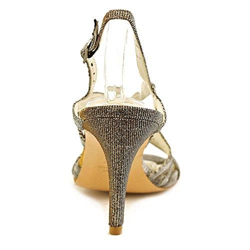 Stuart Weitzman Axislithe Synthetik Sandale Silver