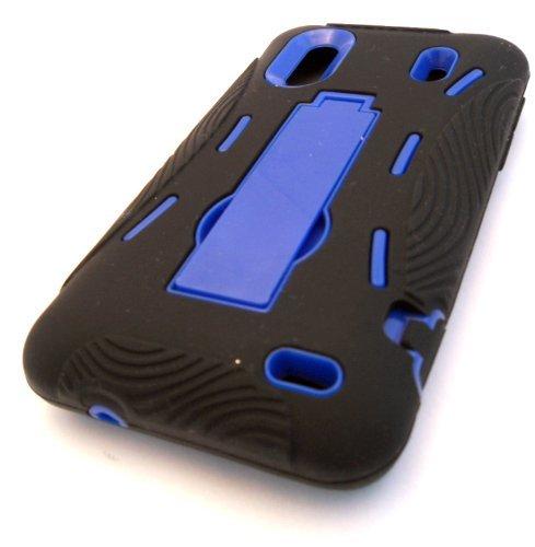 Celltoys HTC Hero Königreich 6285 Evo Design 4 g/S, schwarz, mit Standfunktion, stoßfest, strapazierfähig, Design Schutzhülle, US Cellular, Sprint Boost Handy ADR6285