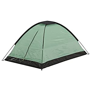open air unisex tatra dome tents, green/black, large