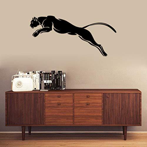 JXAA Cheetah Schlafzimmer Wohnzimmer Wanddekoration kreative Wandaufkleber Papier 57 * 120cm - Cheetah Wohnungen