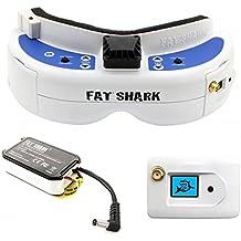 FatShark Dominator V3 FPV Videobrille mit Akku und Empfänger
