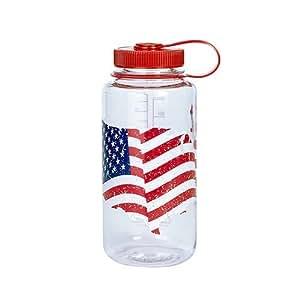 Nalgene Flasche 'Everyday Weithals' - 1 L, American Flag