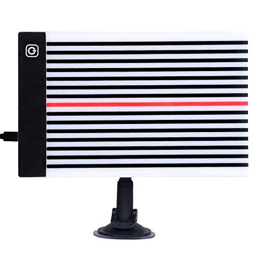 Fansport Erkennung von Dellen,ausbeulreflektor led Dellen Reparatur Werkzeug Led Licht Board Reflektor für Kfz Reparaturwerkzeuge