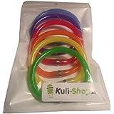 Kugelschreiber-Set Armband Regenbogen