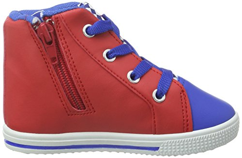 Cars Boys Baby High Sneakers, Baskets Basses Garçon Multicolore - Mehrfarbig (Cbl/Wht/Red 606)