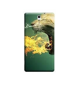 Ebby Premium Printed 3D Designer Back Case Cover For Sony Xperia C5 (Premium Designer Cae)