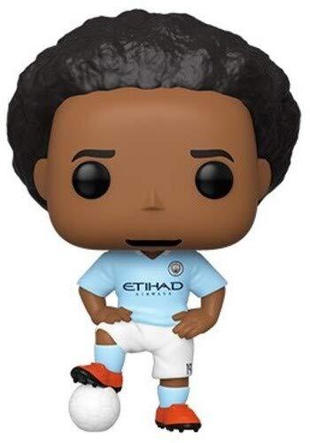 Funko 42790 POP Vinyl Football: Manchester City-Leroy Sane Sammelbares Spielzeug, Mehrfarben
