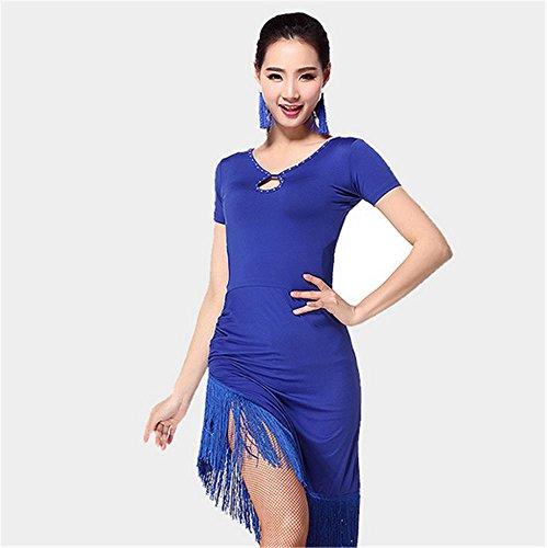 Les femmes coulent robe de danse Sula Ding / Plus de couleurs Blue