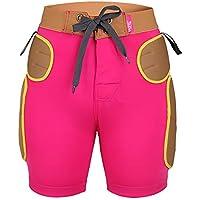 LHKAVE Protección Acolchada para La Cadera Pantalones Cortos Equipo De Protección para Montar En Bicicleta Patinar Sobre Tablas De Snowboard SKI, Cojín Suave Equipo De Protección para Deportes,S
