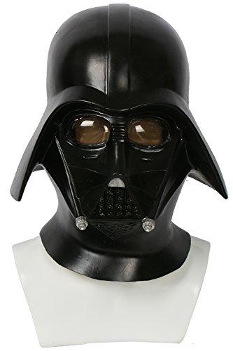 aske Black Series Latex Helm Original Stormtrooper Lord für Erwachsene Halloween Verrücktes Kleid (Stormtrooper-kleid)