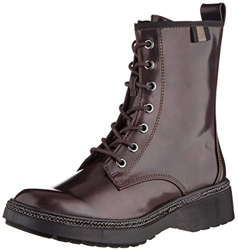 Tamaris Damen 1-1-25224-23 Biker Boots, Rot (Bordeaux Brush 547), 41 EU