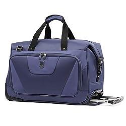 Blue: Travelpro Maxlite 4 Rolling Carry-on Duffel Rolling Duffel