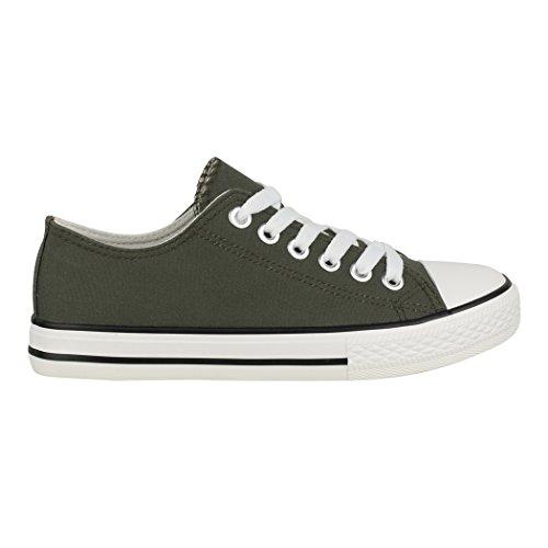 Sneaker scuro Sneaker Verde donna Elara Verde scuro donna Verde Elara Sneaker donna Elara qqp07zB