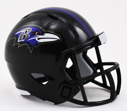 BALTIMORE RAVENS NFL Riddell Speed POCKET PRO MICRO / POCKET-SIZE / MINI Football Helmet