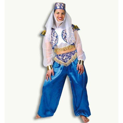 Pommes Kostüm Damen - Pommes Frites Damen Kostüm, Oriental Leila