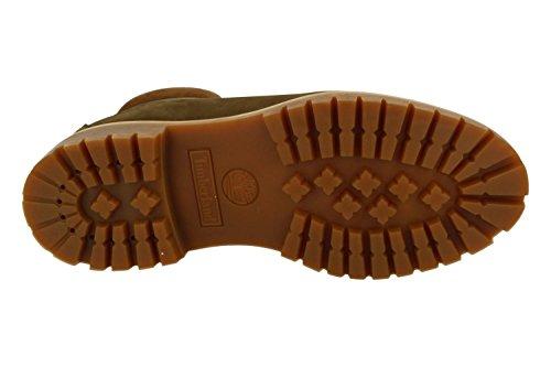 Timberland 6in Premium Boot Dark Rubber CA19SM, Stivali Dark Olive