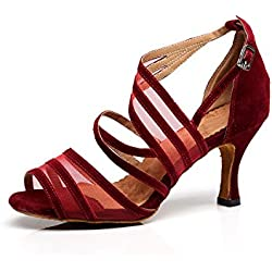 Zapatos de BAILE Moderno Rojo MINITOO