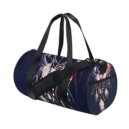 jstel Atrapasueños Boho bolsa de deporte gimnasio para hombres y mujeres bolsa de viaje de viaje