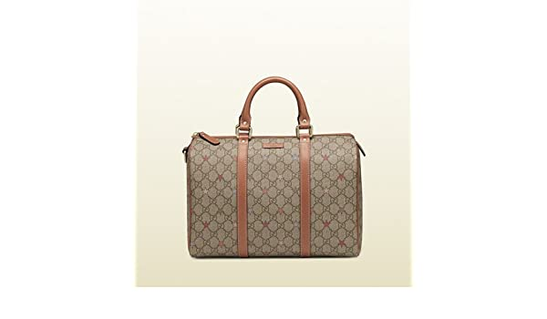 930caeaa2 Gucci Joy GG Supreme Canvas Boston Bag (8878): Amazon.co.uk: Luggage