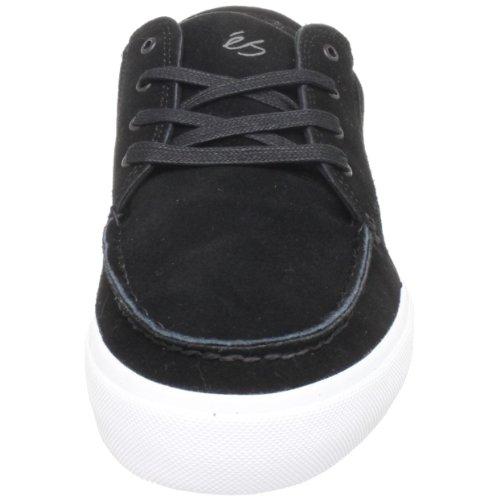 éS HOLBROOK LO Holbrook Lo, Chaussures de skateboard mixte adulte Noir (Schwarz / Noir / Blanc)