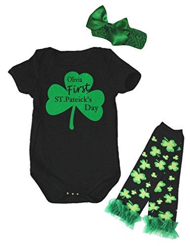 Petitebelle Baby Mädchen (0-24 Monate) Body schwarz schwarz Gr. 12-18 Monate, schwarz