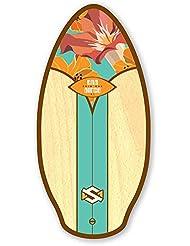 Skim One Skimboard 41/105 cm San Diego - Tabla de playa, madera,