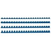 5 Star 330712 - Pack de 100 canutillos, 8 mm, color azul