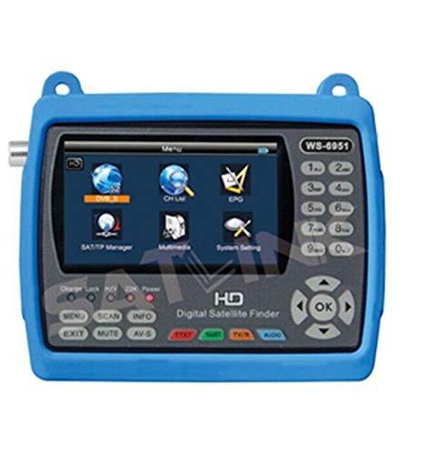 SATLINK WS-6951 - Medidor de satélite Digital (DVB-S&DVB-S2, FTA, TV vía...