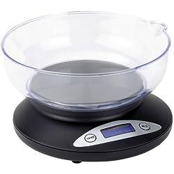 Balance de cuisine Tristar KW-2430 - 2 kg - Noir