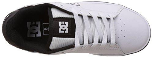 DC Shoes Notch M Shoe, Baskets Basses homme Blanc (White)