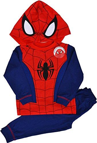Spiderman-Pigiama-due-pezzi-Maniche-lunghe-ragazzo